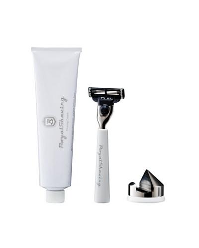 Royal Shaving Maquinilla de Afeitar + Soporte + Crema Afeitado