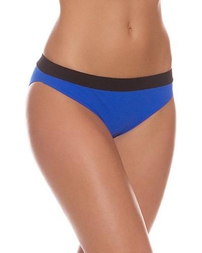 R&S Fashion Braguita Bikini Hepburn Azul Eléctrico / Negro