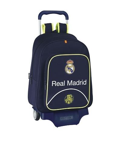Real Madrid Mochila Con Ruedas 33x43x15