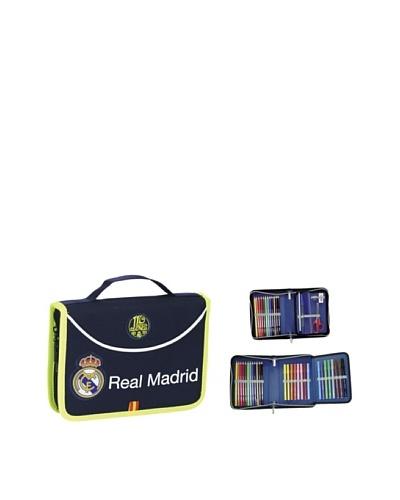Real Madrid Maletín Dibujo 34 Pzas.21x15
