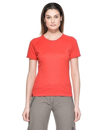 Salewa Camiseta Sporty Dry W Rojo
