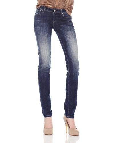 Salsa Jeans Aplicación Tachuelas Azul