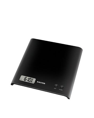 Salter Báscula de Cocina LCD, Diseño Compacto Negra