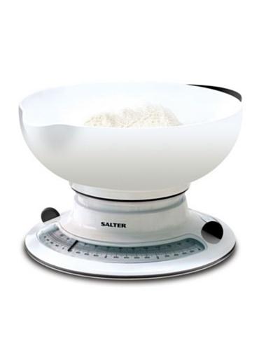 Salter Báscula De Cocina Con Amplio Contenedor, Aquatronic