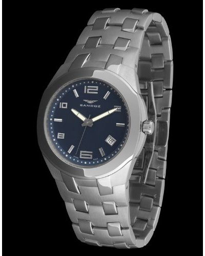 Sandoz 71547-04 - Reloj Col. Diver caja redonda azul marino