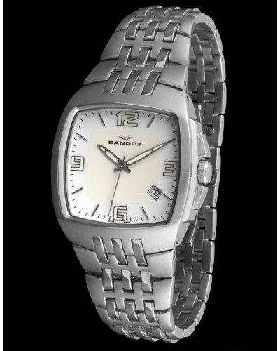 Sandoz 73501-00 – Reloj Col. Diver Unisex Acero dial blanco