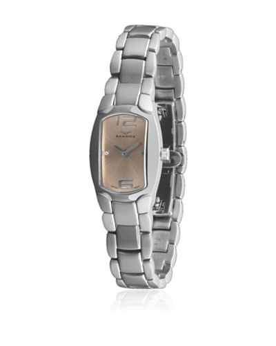 Sandoz 73508-04 - Reloj Diamonds Brazalete Acero Crema