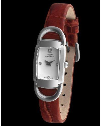 Sandoz 71592-00 - Reloj Diamonds Dial piel grabada
