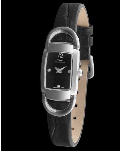 Sandoz 71592-05 - Reloj Diamonds Dial piel grabada