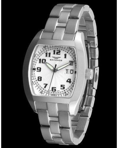 Sandoz 72542-00 - Reloj Col. Diver con fecha plata / blanco