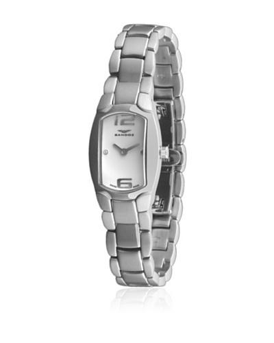 Sandoz 73508-00 - Reloj Diamonds Brazalete Acero Dial Blanco