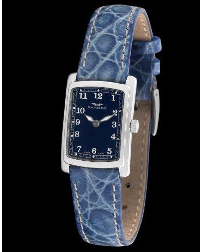 Sandoz 82518-03 - Reloj Col. Diver Señora con correa de piel azul