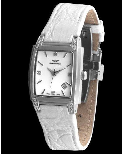 Sandoz 81240-70 - Reloj St. Thomas con 24 diamantes