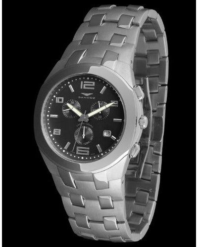 Sandoz 71549-06 – Reloj Col. Diver Crono Simple negro