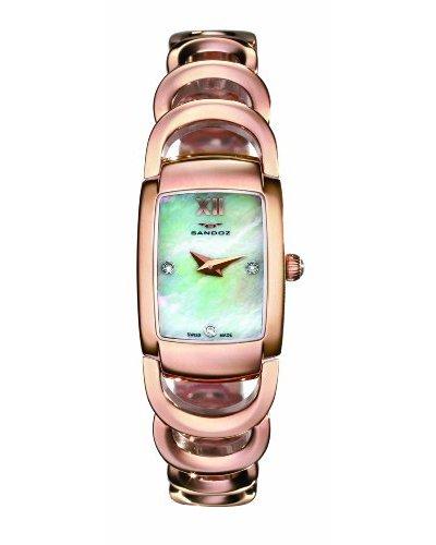 Sandoz 71590-60 - Reloj de mujer acero oro