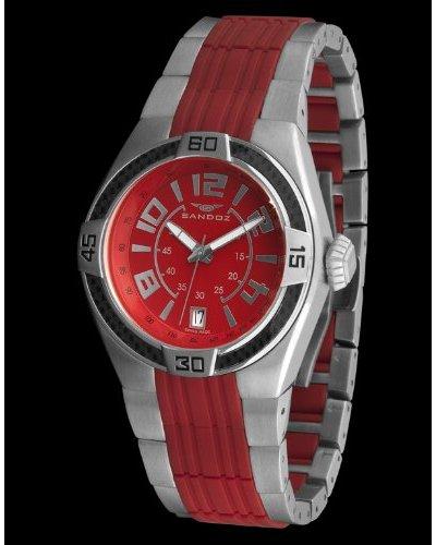 Sandoz 71553-09 - Reloj Fernando Alonso Caballero rojo / plata