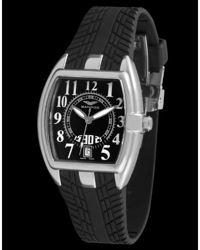 Sandoz 81254-05 - Reloj Fernando Alonso Señora negro / negro
