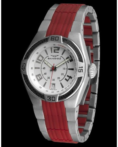 Sandoz 71553-02 - Reloj Fernando Alonso Caballero rojo / blanco
