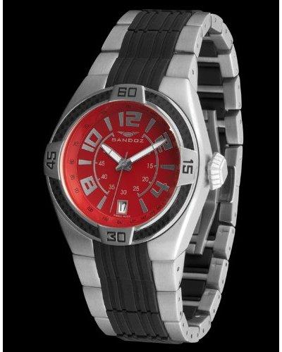 Sandoz 71553-07 - Reloj Fernando Alonso Caballero rojo / negro