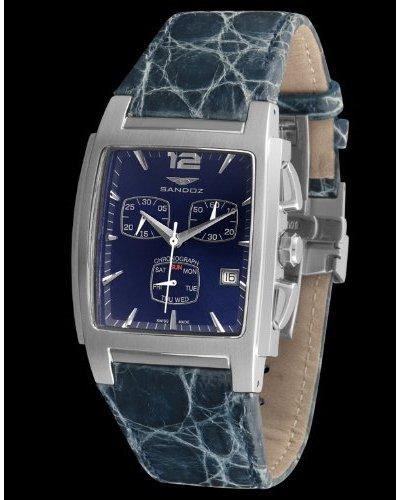 Sandoz Reloj St. Thomas azul/azul