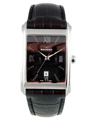 Sandoz 81275-05 – Reloj de Caballero de piel