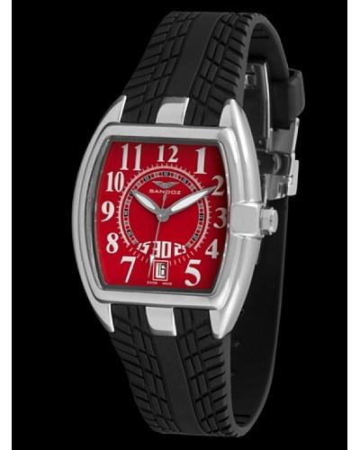 Sandoz 81254-07 – Reloj Fernando Alonso Señora Negro / Rojo