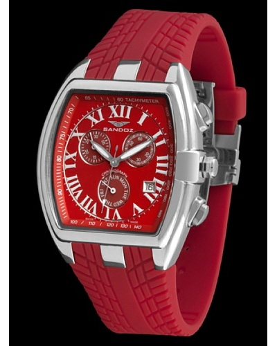 Sandoz 81255-09 - Reloj Fernando Alonso Caballero rojo / plata