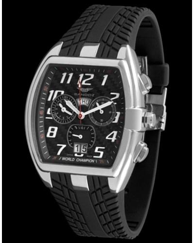 Sandoz 81261-05 – Reloj de Caballero con correa de caucho