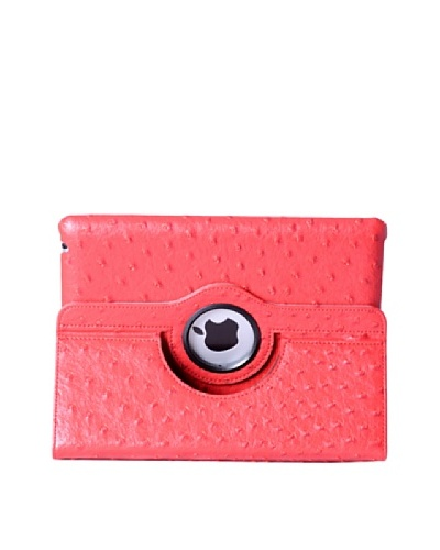 Carcasa De Carpeta Para iPad (Excepto iPad Mini), Rojo Textura Rugosa