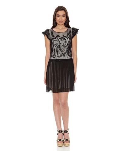 Sándalo Vestido Caterina Negro