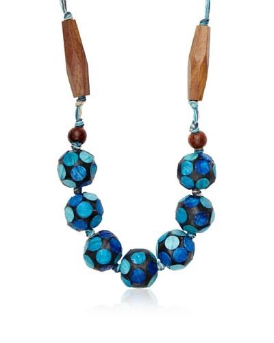 Sándalo Collar Diana Azul