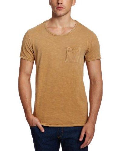 Scotch & Soda Camiseta Ibrahim Marrón