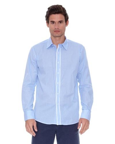 Seaman Camisa Algodón Manga Larga Coderas
