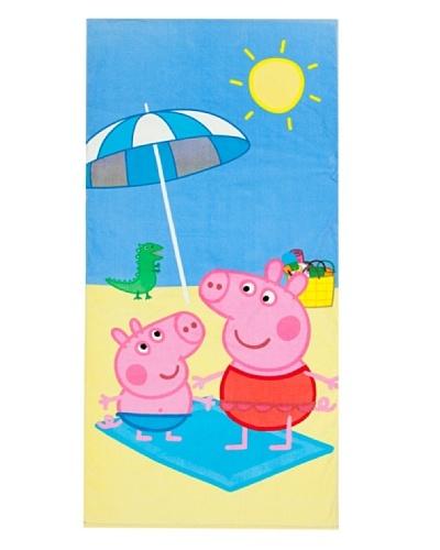 Secaneta Toalla Playa Sun Pepa Pig