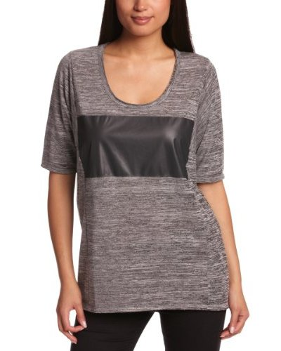 Selected Femme Camiseta Félicie Gris