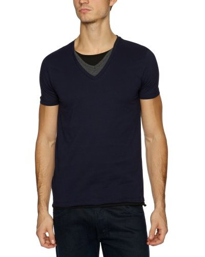 Selected Camiseta Waël Azul Marino