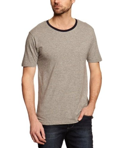 Selected Camiseta Nuevo Hampshire Gris