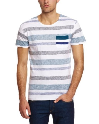 Selected Camiseta Tedorico Blanco / Azul