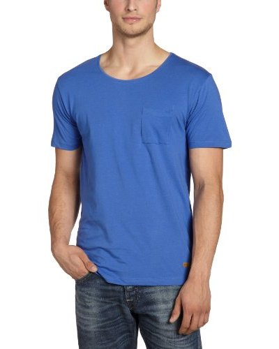 SELECTED Camiseta Azul