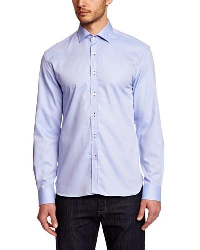 Selected Camisa Iban Azul Claro