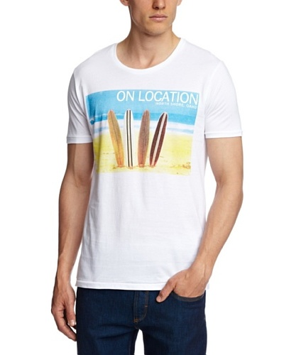 Selected Camiseta Castellaneta Marina Blanco