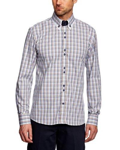 Selected Camisa Manuel Azul / Blanco