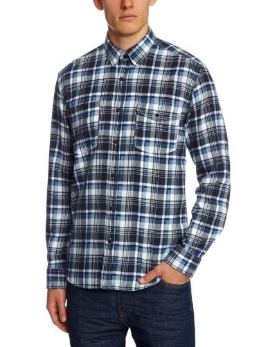 Selected Camisa Luke Azul