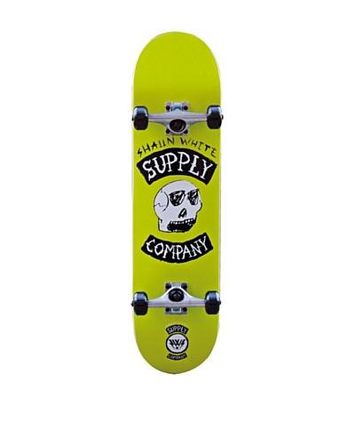 Shaun White Skateboard Sketch Skull Verde Única