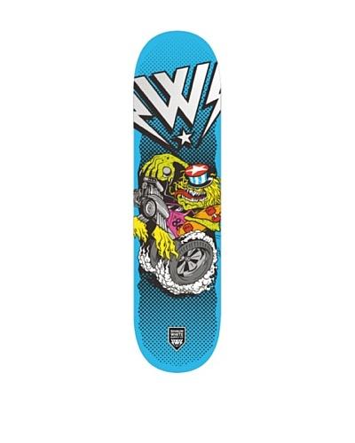 Shaun White Skateboard Burnout Azul Única