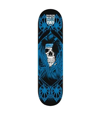 Shaun White Skateboard Skull Blue Azul Única