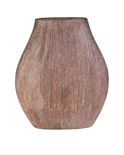 Sia Home Fashion Jarrón Look madera