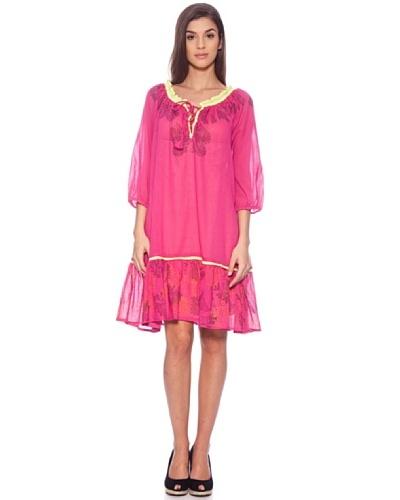 Sigris Vestido Cara Fucsia