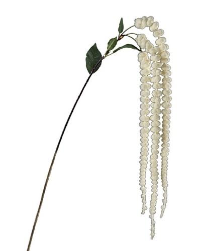 Silea Flor Amaranto Crema