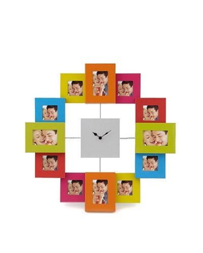 Silea Reloj con Marco de Fotos